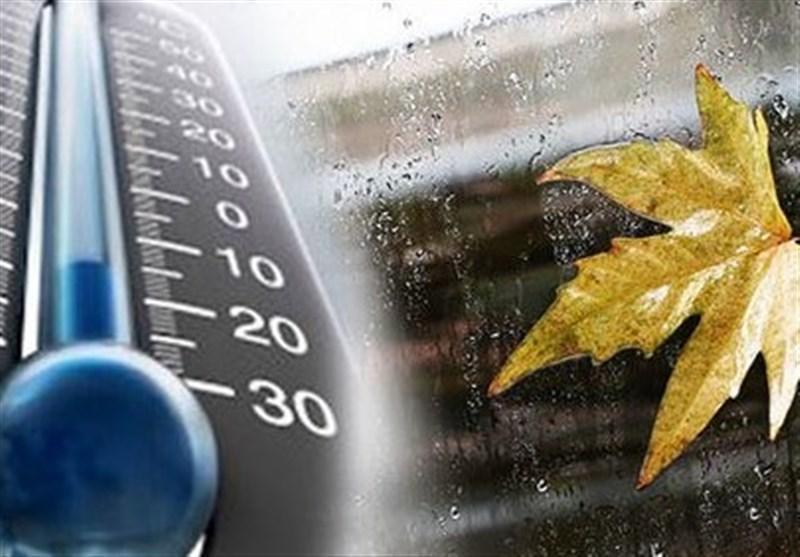 پیش بینی کاهش 5 تا 15 درجه ای دمای هوا