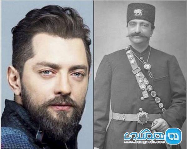بهرام رادان در نقش ناصرالدین شاه جدیدترین ساخته حسن فتحی