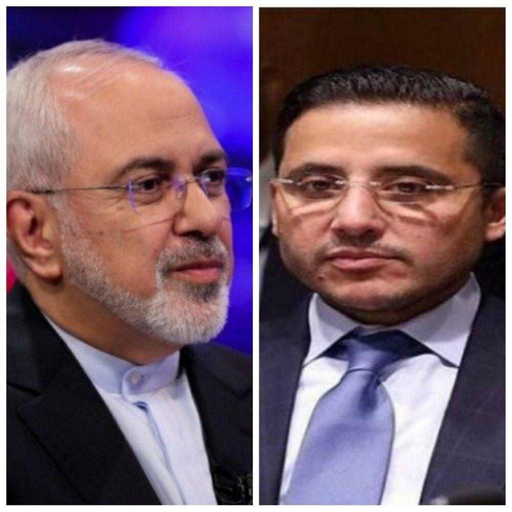 گفتگوی تلفنی وزیر خارجه کویت با ظریف، اعلام آمادگی برای کمک به ایران
