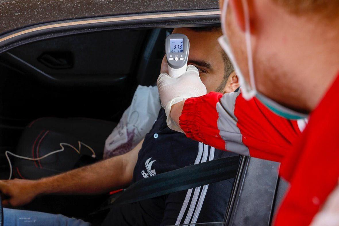 خبرنگاران غربالگری بیش از873 هزار نفر در خوزستان توسط هلال احمر