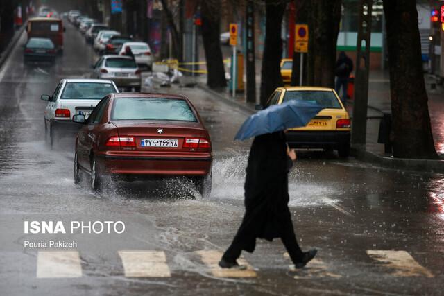 فردا، اوج بارش ها در استان کرمان، مسدود شدن راه 2 روستا در بافت