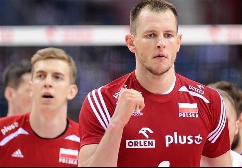 ستاره تیم ملی والیبال لهستان به چین می رود