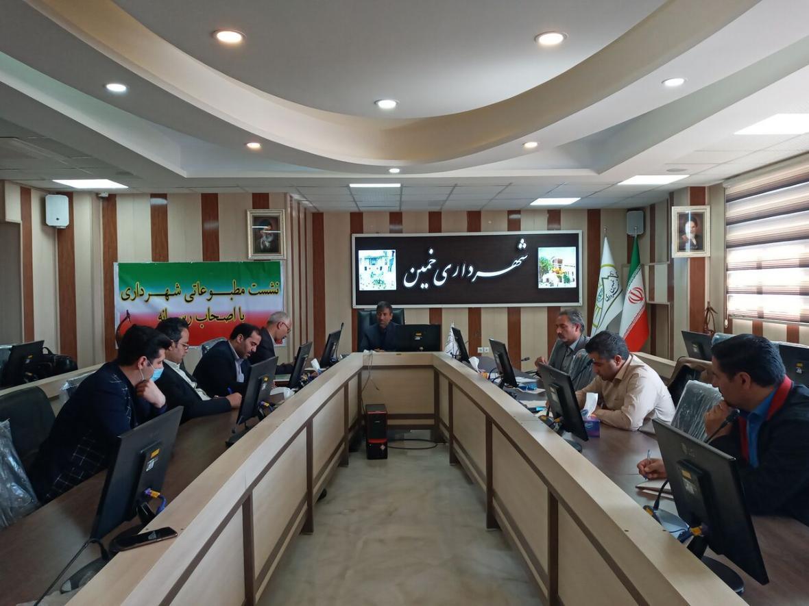 خبرنگاران ادارات خمین 50 میلیارد ریال به شهرداری بدهکار هستند