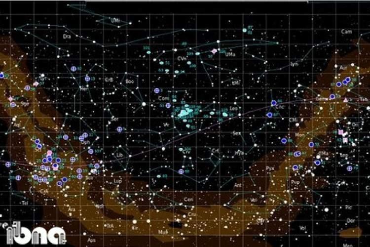 نگاهی به 50 جرم آسمانی از دریچه تلسکوپ