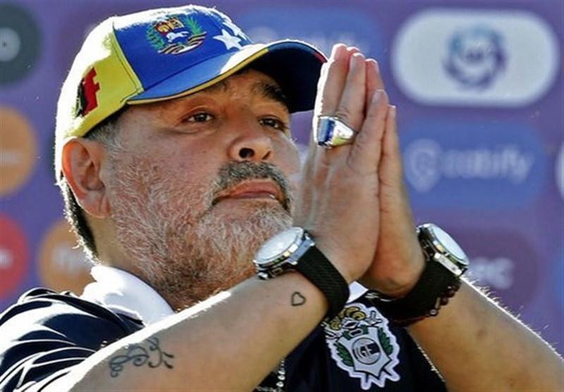 درخواست بغض آلود مارادونا از مردم دنیا؛ به فقرا کمک کنید!