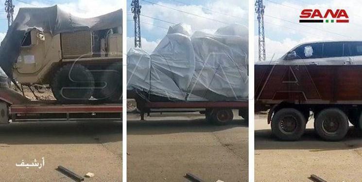 آمریکا 40 کامیون حامل تجهیزات نظامی به شمال شرق سوریه فرستاد