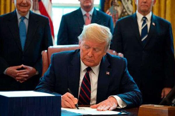 ترامپ دستور محدودیت رسانه های اجتماعی را امضا کرد