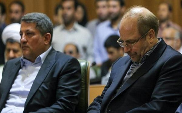دیدار محسن هاشمی با قالیباف، لزوم اصلاح قانون انتخابات شورا های شهر
