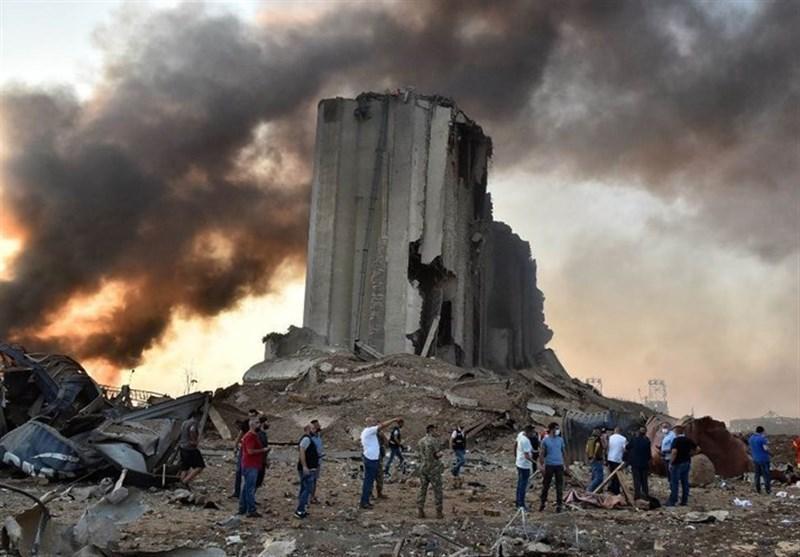 تازه ترین آمار تلفات انفجار عظیم بیروت؛ 158 جان باخته و بیش از 6 هزار زخمی