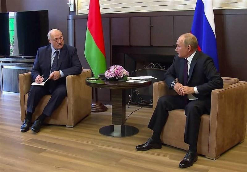پوتین: بلاروسی ها باید بدون فشار خارجی اوضاع کشورشان را سر و سامان دهند