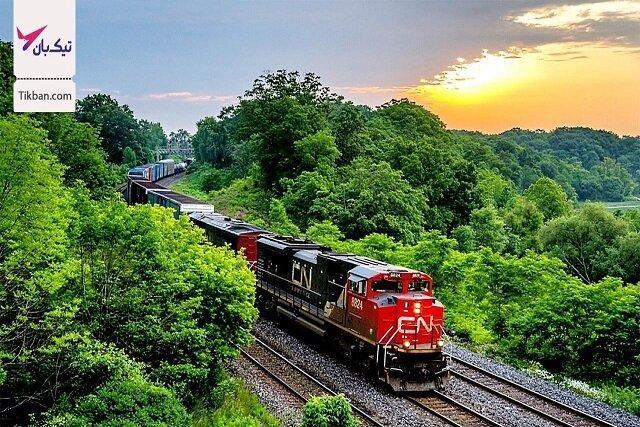 صدای سوت قطار سمفونی عشق است