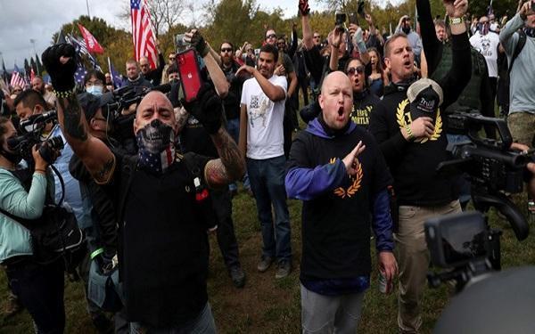 حامیان ترامپ تظاهراتی بسیار عظیم در واشنگتن برگزار می نمایند