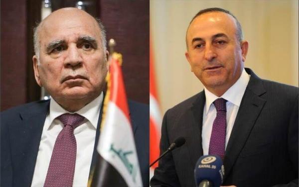 رایزنی وزیران خارجه عراق و ترکیه درباره مسائل دوجانبه و منطقه ای