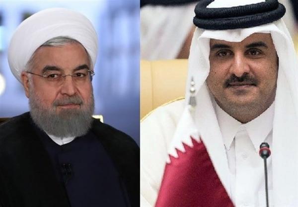 امیر قطر سالگرد پیروزی انقلاب را تبریک گفت