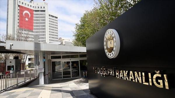 احضار سفیر چین در آنکارا به وزارت خارجه ترکیه