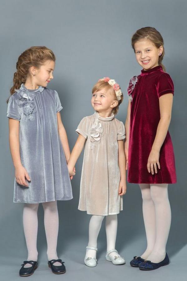 30 مدل لباس مخمل بچه گانه بسیار جذاب و زیبا