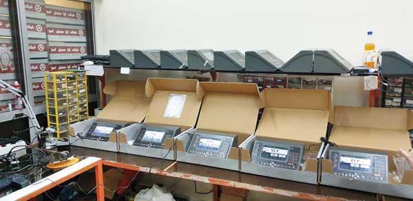 بومی سازی فناوری فراوری سنسور وزن و نمایشگرهای توزین پویا