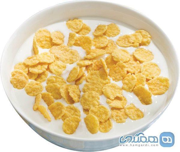 نکاتی برای مصرف غلات صبحانه