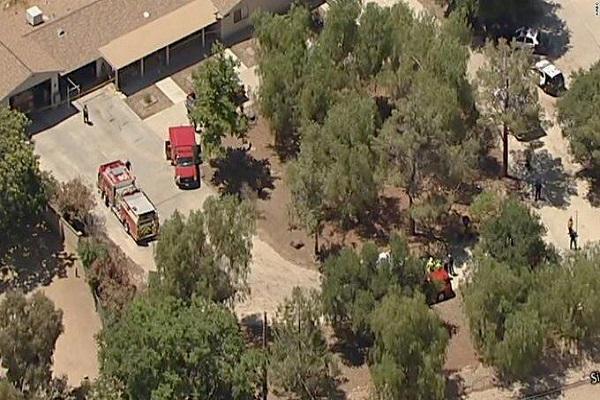 کشته شدن یک مامور آتش نشانی در کالیفرنیا