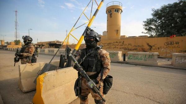 خنثی سازی حمله موشکی به پایگاه نظامی بلد در عراق