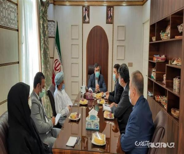 نشست آنالیز روابط تجاری ایران و عمان در هرمزگان