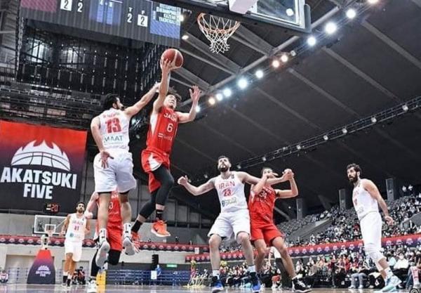 تیم ملی بسکتبال ایران شکست مقابل ژاپن را جبران کرد