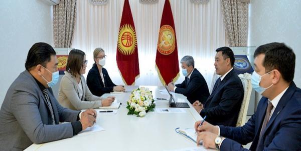 دیدار رئیس جمهور قرقیزستان با دستیار دبیر کل سازمان ملل