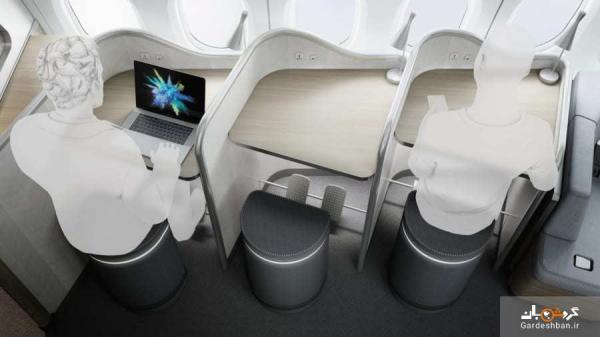 عجیب ترین هواپیمای جهان با امکاناتی باورنکردنی برای مسافران