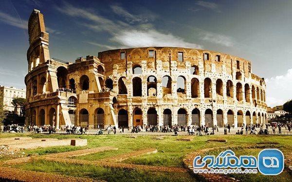 قسمتی از کولوسئوم باستانی رم بازسازی خواهد شد
