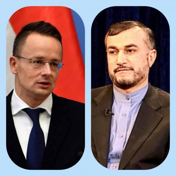 پیغام وزیرخارجه مجارستان به امیرعبداللهیان
